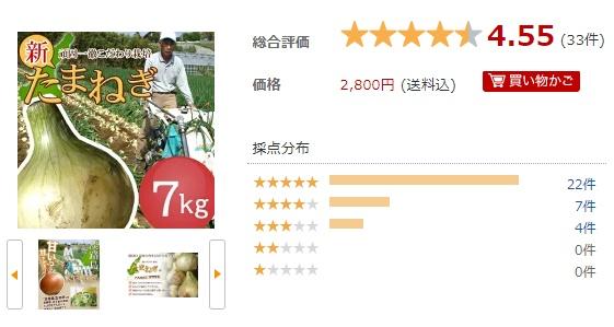 今井ファームの玉ねぎ7kg口コミ
